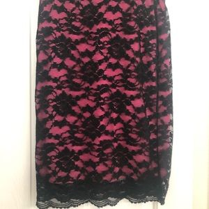 Nicole Miller lace skirt